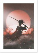 Japanese Art Art Print 113259360