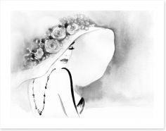 Black and White Art Print 115083978