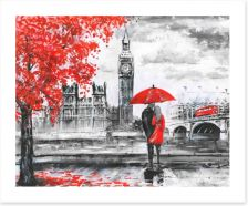 Autumn in London Art Print 120793680