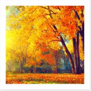 Autumn Art Print 121642857