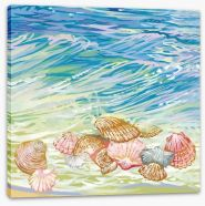 Beach House Stretched Canvas 123387560