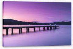 Port Arthur pier Stretched Canvas 123514259