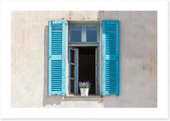 Lavender on the sill, Villefranche