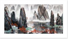 Chinese Art Art Print 137222115