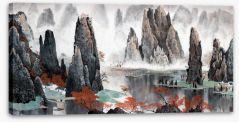 Chinese Art Stretched Canvas 137222115