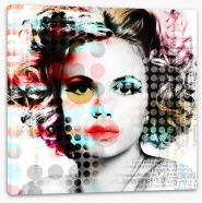 Urban beauty Stretched Canvas 137834254
