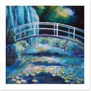 Bridge over the lily pond