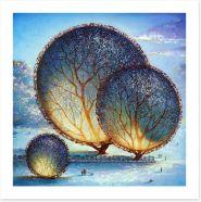 Winter Art Print 144272386