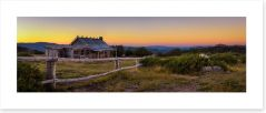 Craig's Hut sunset Art Print 144824722