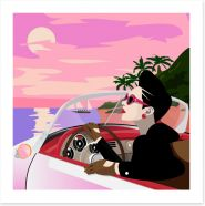 Retro Art Print 156957037