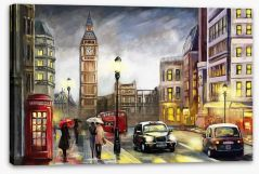 London Stretched Canvas 167015010