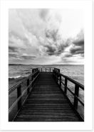 Black and White Art Print 176807468