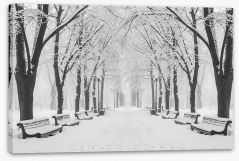 Winter Stretched Canvas 182313263