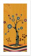 Aboriginal Art Art Print 197477609