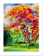 Autumn Art Print 198438453