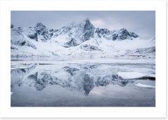 Mountains Art Print 212774740