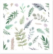Leaf Art Print 214800852