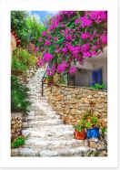 Village Art Print 218675933