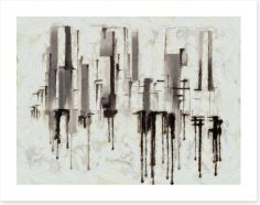 Black and White Art Print 219166731