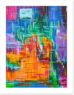 Abstract Art Print 237706390