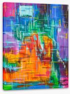 Abstract Stretched Canvas 237706390