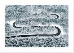 Winter Art Print 243323937