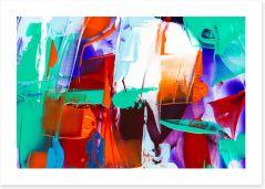 Abstract Art Print 252994470