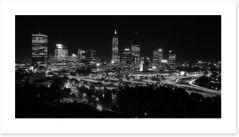 Perth night skyline