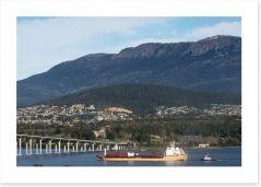 The Tasman Bridge in Hobart