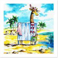 Beach House Art Print 30442511
