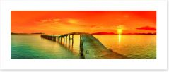 Jetty Art Print 42726025