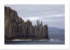 Dramatic Tasmanian coastline