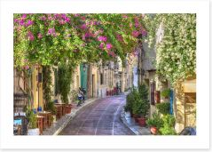 Traditional street in Plaka, Athens