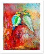 Bee-eater couple