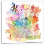 The colours of abstract Stretched Canvas 51997449