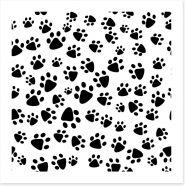 Patter of tiny paw prints