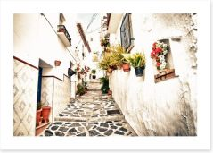 Village Art Print 56123434