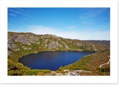 Alpine Lake on Overland Trail, Tasmania