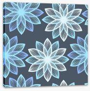 Starburst petals Stretched Canvas 61174353