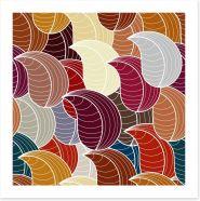 Autumn leaves Art Print 61393780
