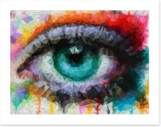 Geometric eye