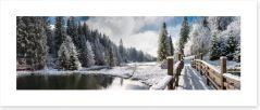Winter Art Print 63326147