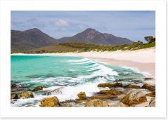 Wineglass Bay beach, Tasmania