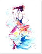 Summer Art Print 66752554