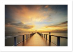 The endless pier