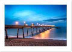 Twinkling pier