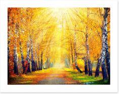 Autumn Art Print 70760699