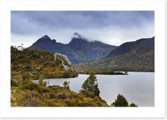 Mt Cradle lake, Tasmania