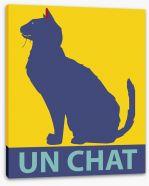 Un chat Stretched Canvas 71895246