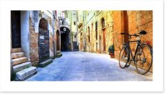 The streets of Pitigliano, Italy